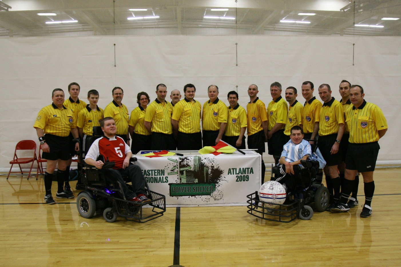 International Referees work the 2009 USPSA Eastern Regional Championships