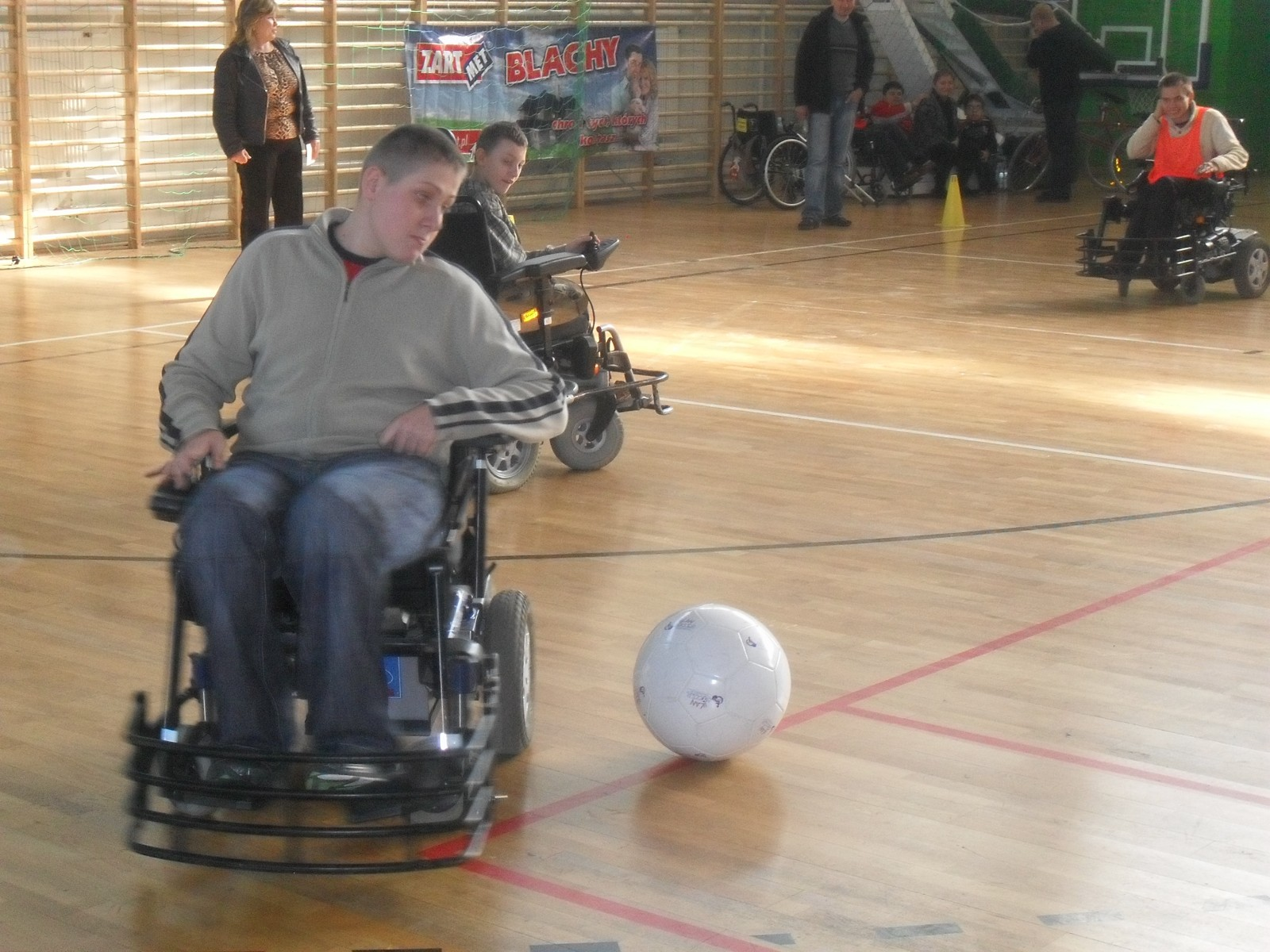 Pologne : L'an 1 du Powerchair Football !