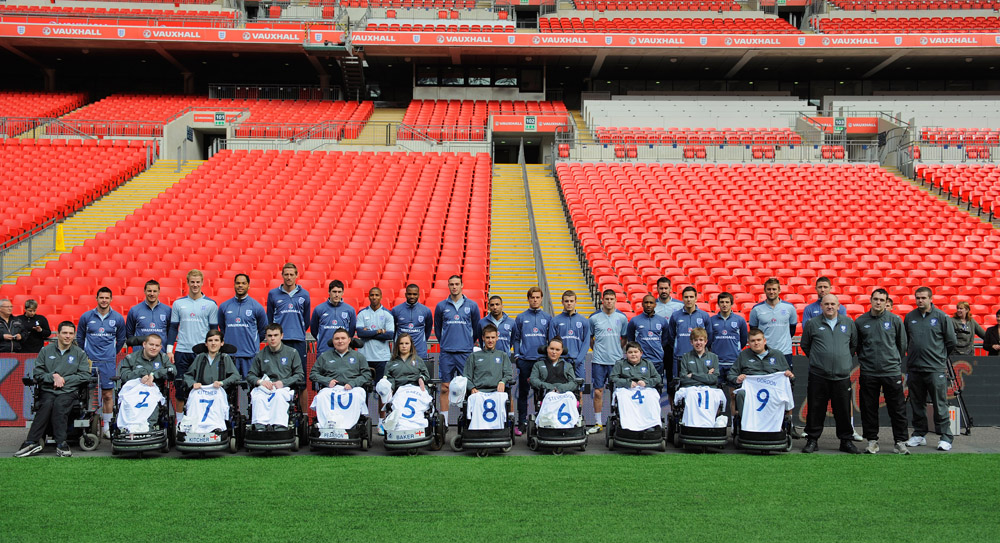 Fabio Capello and FA provide a big boost to England Powerchair team
