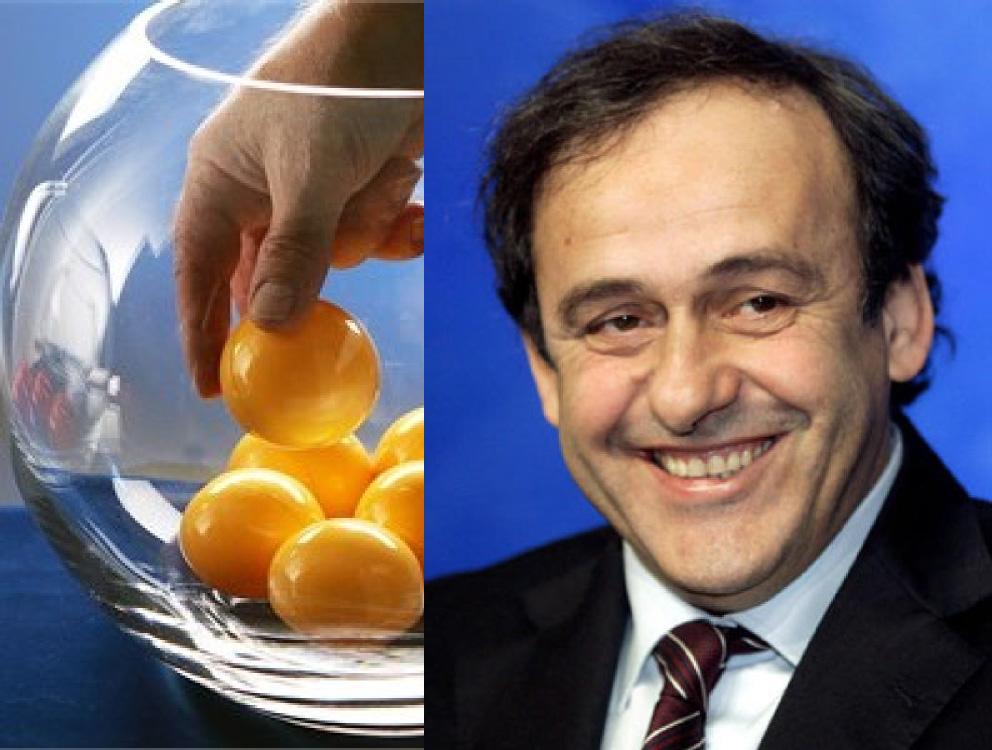 Michel Platini, invité de gala pour le tirage au sort de la Coupe du Monde !