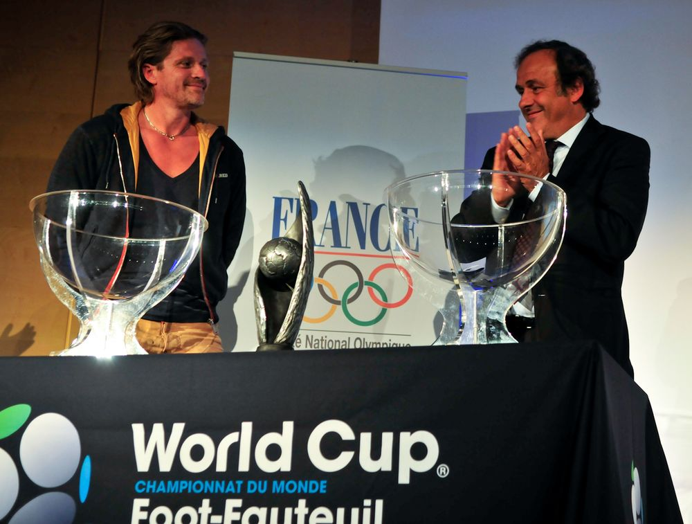 World Cup 2011 pools draw by Michel Platini
