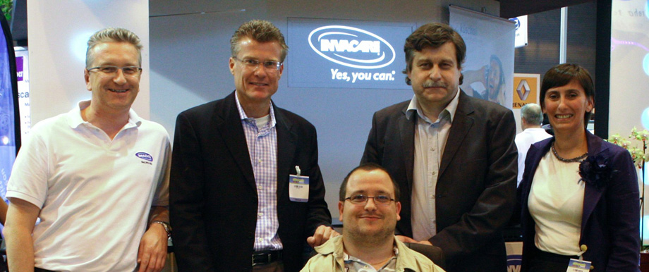 Invacare, first partner of FIPFA