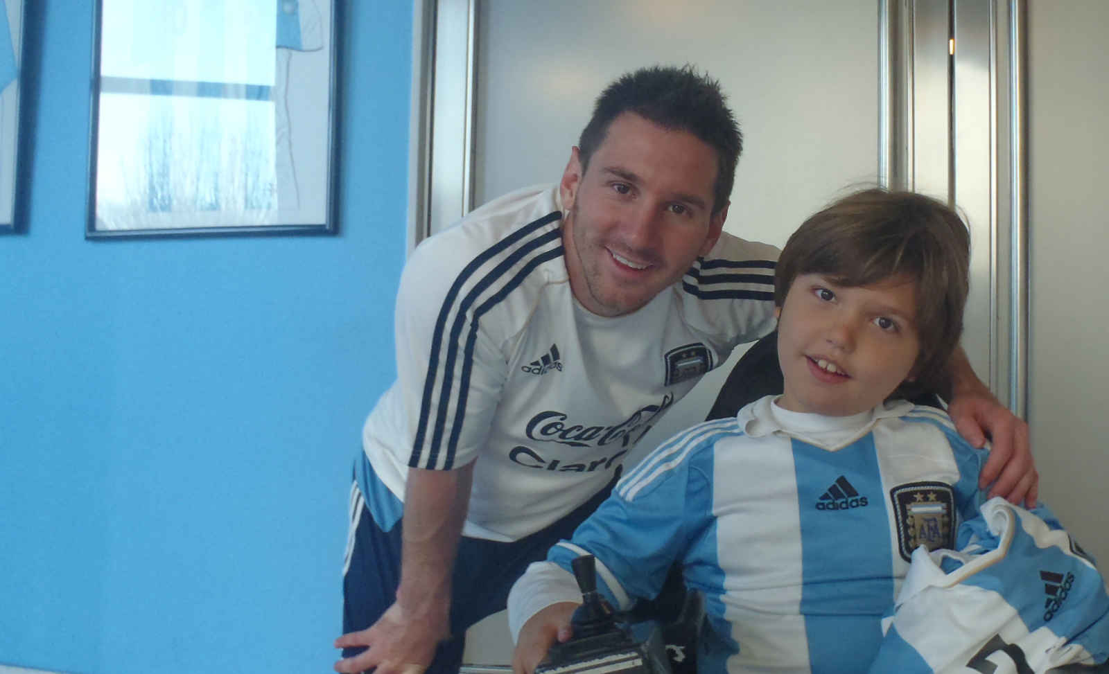 When Valentino met Messi!