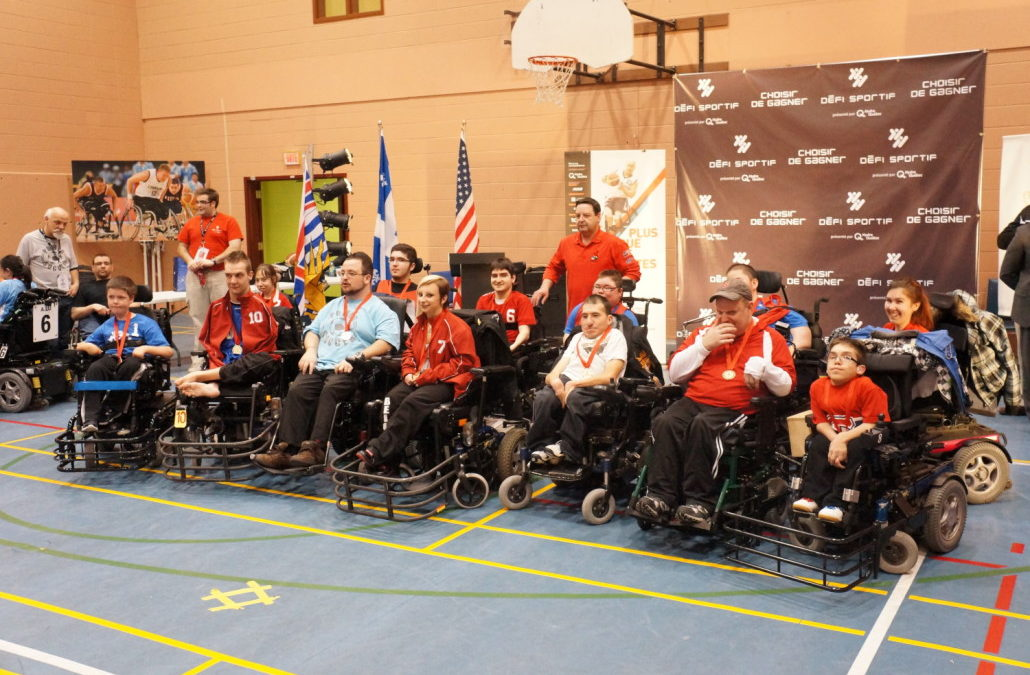 Défi sportif AlterGo Powerchair Soccer tournament 2015