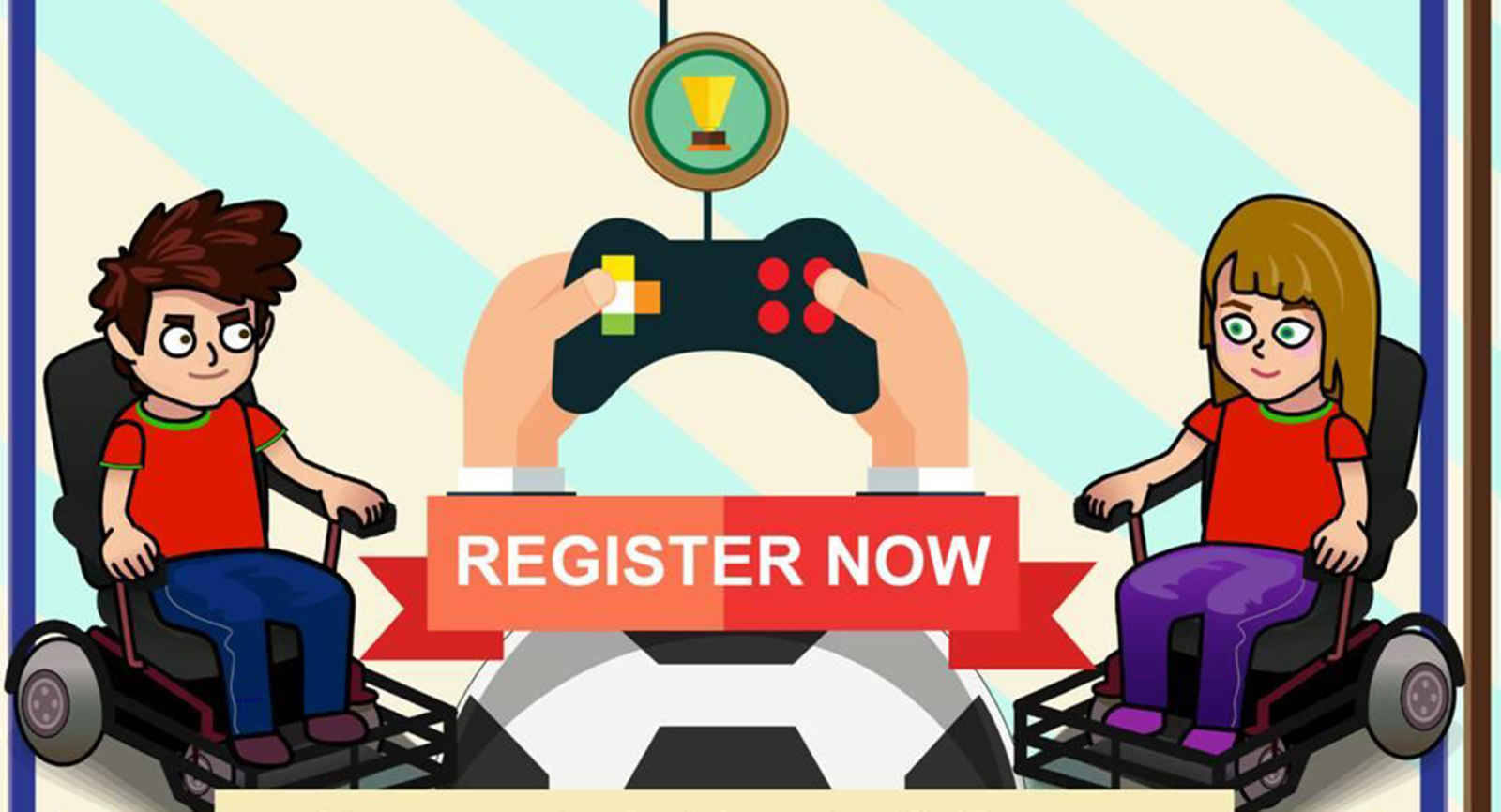 Be A Part of the New Powerchair Football Game!!!