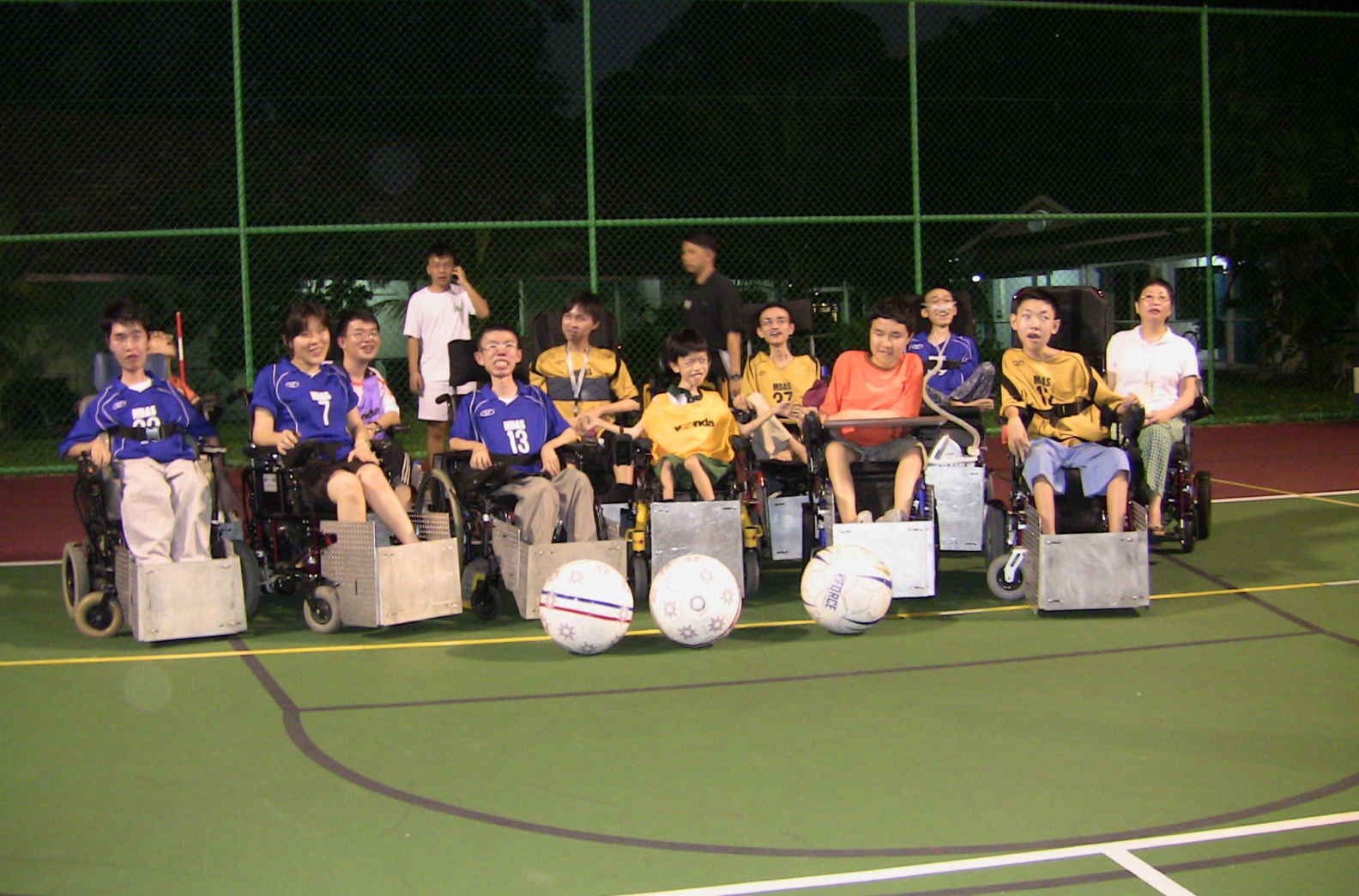 Powerchair football